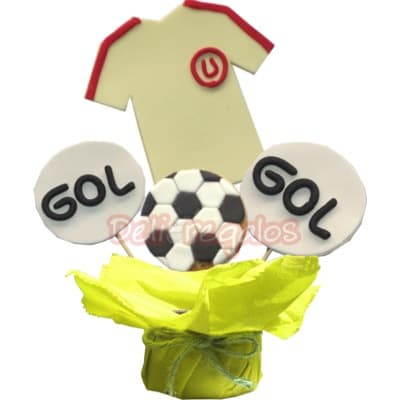 Galletas Decoradas Universitario de Deportes - Cod:GLA18