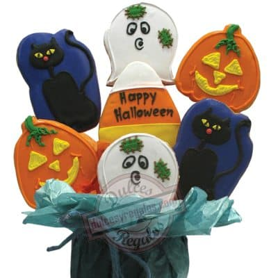 Galletas Decoradas para Halloween | Galletas Decoradas - Cod:GLA20