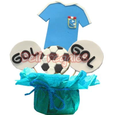 Galletas Decoradas Sportin Cristal - Cod:GLA22