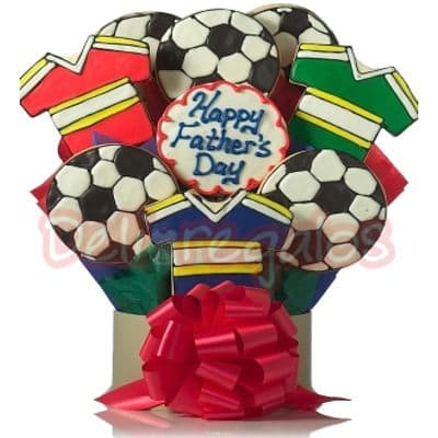 Galletas Decoradas de Camisetas de FootBall - Cod:GLA25