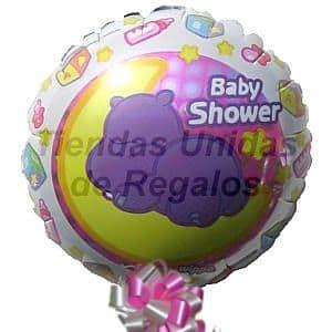 I-quiero.com - Globo 02 - Codigo:GLL02 - Detalles: Globo metalico de 20 cm con texto Baby Shower. - - Para mayores informes llamenos al Telf: 225-5120 o 476-0753.