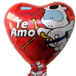 Globo Te Amo | Globos Metalicos - Whatsapp: 980-660044