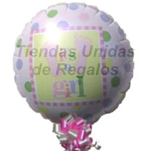 I-quiero.com - Globo 12 - Codigo:GLL12 - Detalles: Globo metalico de 20 cm con texto Its a Gril. - - Para mayores informes llamenos al Telf: 225-5120 o 476-0753.