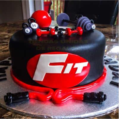 Torta deportes | torta gimnasio | torta hombre con pesas | Torta Pesas Gimnasio - Whatsapp: 980-660044