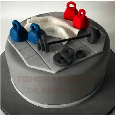 Crossfit cake | Tortas temáticas | Torta Pesa kettlebell - Whatsapp: 980-660044