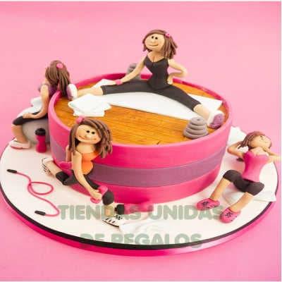 Crossfit cake | Tortas temáticas | Torta Ginmastas - Whatsapp: 980-660044