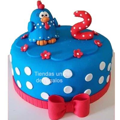 Torta Gallina Pintadita - Whatsapp: 980-660044