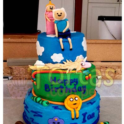Torta Especial Aventure Time - Cod:HAT13