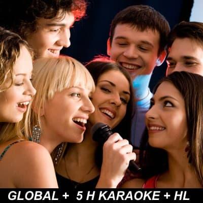 I-quiero.com - Pack Karaoke Global - Codigo:HLK03 - Detalles: Alquiler de karaoke Global Ten el Karaoke de Viernes a Domingo. 1 Parlante + Maq Karaoke + 2 Mic + Pistas 2 horas de karaoke + 2 horas de Dj.  + 1 hora de animacion horaloca  a base de 2 personajes. - - Para mayores informes llamenos al Telf: 225-5120 o 476-0753.
