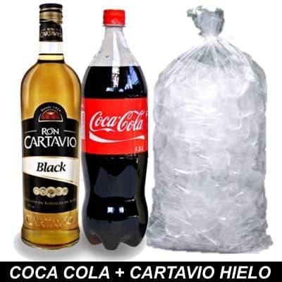 I-quiero.com - Coca Cola + Cartavio + Hielo - Codigo:HLK06 - Detalles: 1 botella de coca cola 1.5 + ron cartavio 750ml + bolsa de59 hielo de 2kilos - - Para mayores informes llamenos al Telf: 225-5120 o 476-0753.