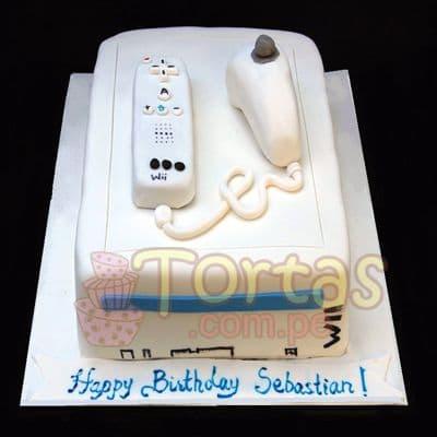 Torta Wii 01 - Cod:JVD01