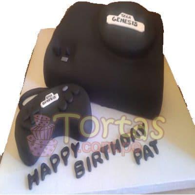 Torta Sega Genesis | Torta Sega - Cod:JVD04