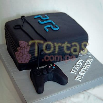 Torta PS2 - PlayStation2 06  - Whatsapp: 980-660044