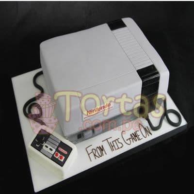 Torta Nintendo Vintage 07 - Whatsapp: 980-660044