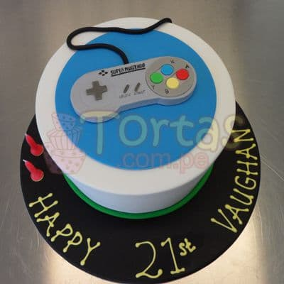 Torta SuperNes 10 - Whatsapp: 980-660044