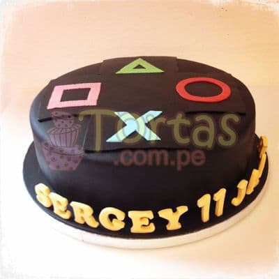 Torta Mando Play Station - Cod:JVD11