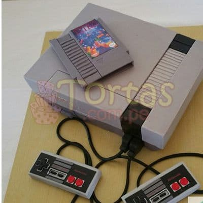Torta Nes 14 | Torta Nintendo | Nintendo Cake - Cod:JVD14