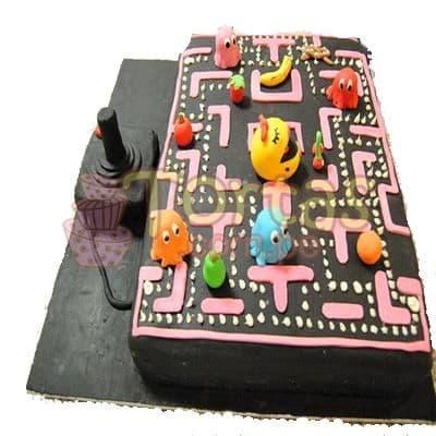 Desayunosperu.com - Torta Atari Vintage 16 - Codigo:JVD16 - Detalles: Torta hecha a base de queque De Vainilla  ,    en manjar blanco, forrado y decorado en su totalidad con masa el�stica. Mide  20 X30, mando en queque de 10x10. Incluye toda la decoraci�n en masa el�stica. Base forrada en masa elastica.  - - Para mayores informes llamenos al Telf: 225-5120 o 476-0753.