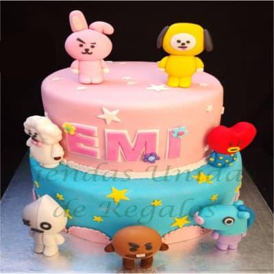Torta Kpop 2 | Kpop Cakes | Tortas Coreanas - Whatsapp: 980-660044