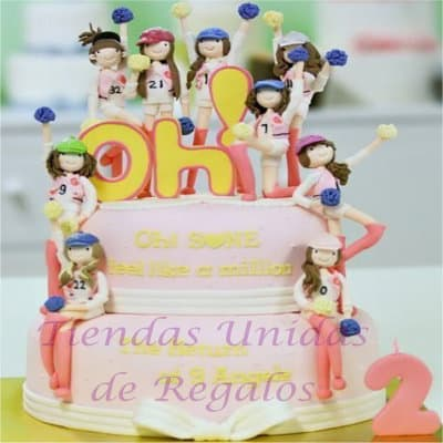 Torta GG | Kpop Cakes | Tortas Coreanas - Whatsapp: 980-660044