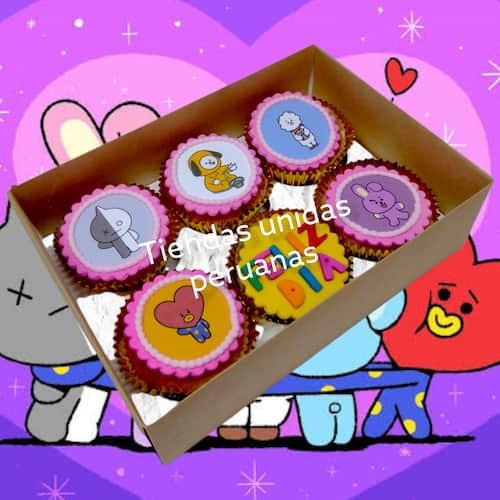 Cupcake Kpop | Kpop Cakes | Tortas Coreanas - Whatsapp: 980-660044