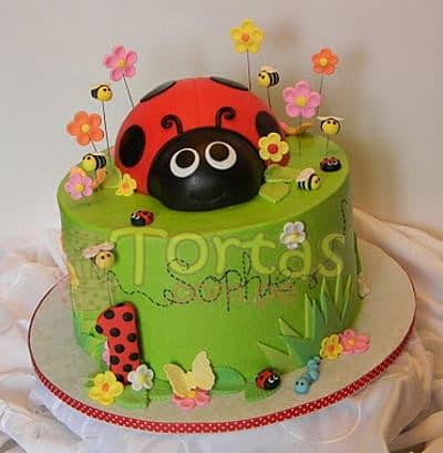 Torta de Mariquita - Codigo:LBB01 - Whatsapp: 980-660044.