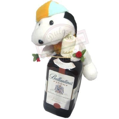 i-quiero.com - Whisky Ballantines + Peluche - Codigo:LCD17 - Detalles: Whisky Ballantine�s (blended Scotch whisky) Volumen: 750ml. Descripcion: whisky.  Incluye de Cortes�a un lindo peluche. Este producto deber� ordenarse con 3 dia �til de anticipaci�n. El peluche es referencia y podr� ser cambiado. por uno similar y de igual precio. El color y modelo del peluche es referencial - - Para mayores informes llamenos al Telf: 225-5120 o 476-0753.