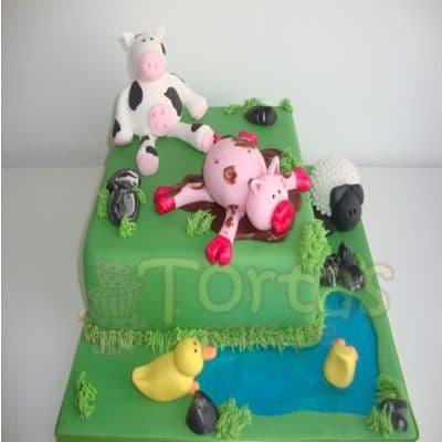 Torta de la Granja | Torta de Granja de Zenon - Cod:LGM07
