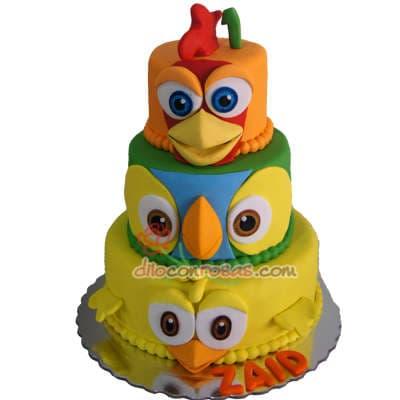 Diloconrosas.com - Cupcakes Granja - Codigo:LGM09 - Detalles: Doce deliciosos cupcakes de vainilla decorados en masa elastica.  - - Para mayores informes llamenos al Telf: 225-5120 o 476-0753.