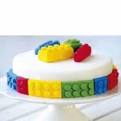Torta Lego 01 | Imágenes de Torta LEGO | Pastel de lego - Cod:LGT01