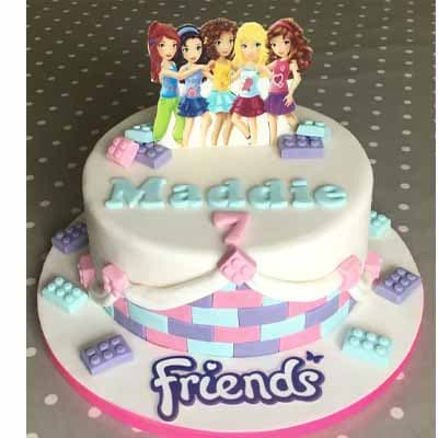 Torta Lego Friends 01 - Cod:LGT03