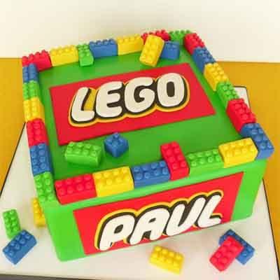 Torta Lego 04 - Whatsapp: 980-660044