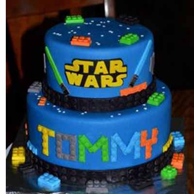 Torta Lego Star wars 01 - Whatsapp: 980-660044