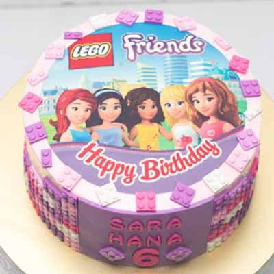 Torta Lego Friends 05 - Cod:LGT16