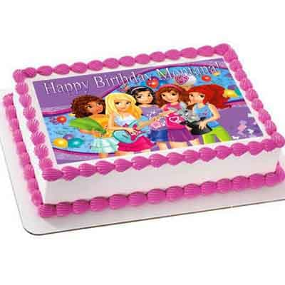Torta Lego Friends 06 - Cod:LGT19