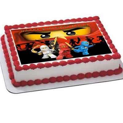 Torta Lego ninjago 02 - Whatsapp: 980-660044