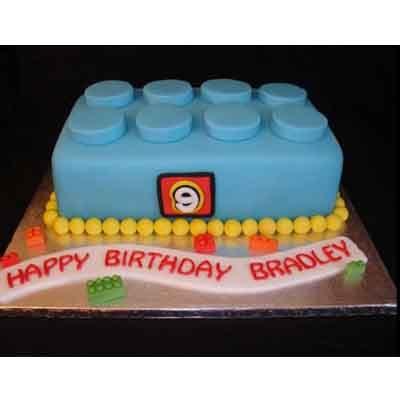 Torta Lego 12 | Imágenes de Torta LEGO | Pastel de lego - Cod:LGT24