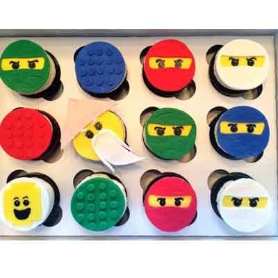 Torta Lego Ninjago 03 | Imágenes de Torta LEGO | Pastel de lego - Cod:LGT25