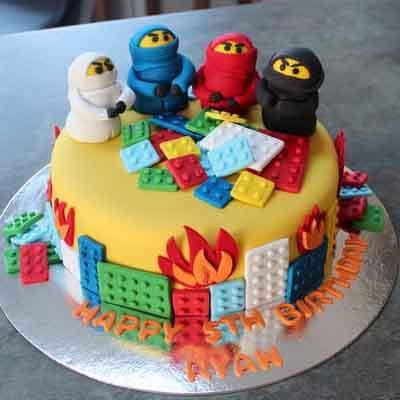 Torta Lego Ninjago 06 - Whatsapp: 980-660044