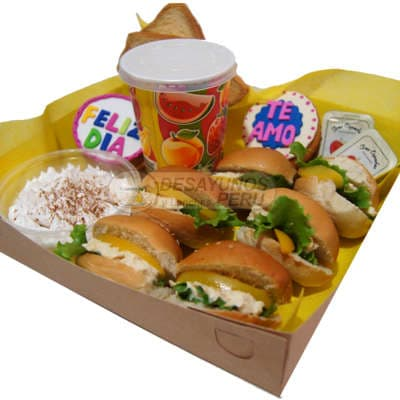 Lonches | Delivery Lonches | Lonche para Enamorados - Whatsapp: 980-660044