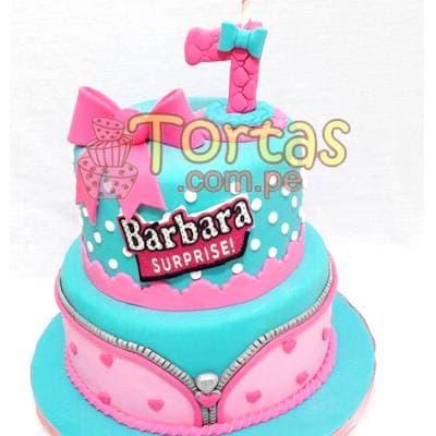 Torta LOL Surprise - Cod: ENP08 - Envio de Tortas y pasteles perfectos delivery