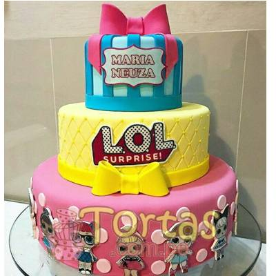 Torta de LoL | Torta LOL Baby Surprise - Whatsapp: 980-660044