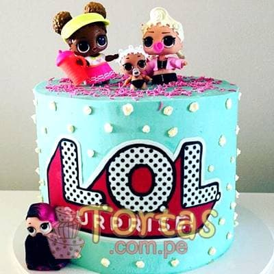LOL Cake Surprise | LOL Surprise Dolls Birthday Cake | Tortas de cumpleaños - Whatsapp: 980-660044