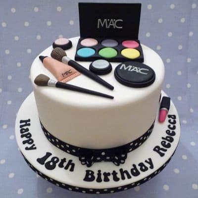 Torta de Maquillaje  - Whatsapp: 980-660044