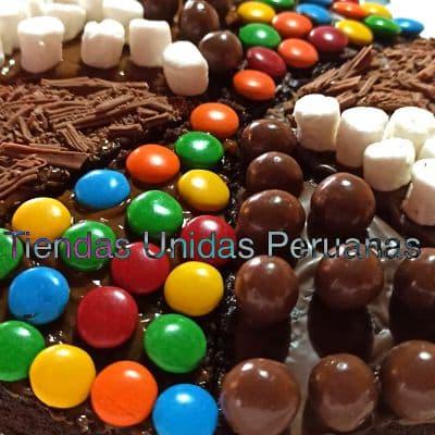 Pizza Brownie para Dia del Maestro | Pizza Brownie - Whatsapp: 980-660044