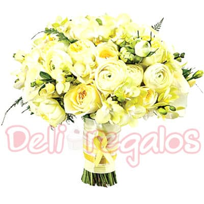 Bouquet a base de 20 rosas - Cod:MAM10
