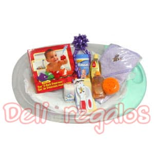 Arreglos para Bebe | Canastas para bebes Recien Nacidos - Cod:MCB05