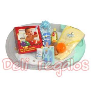 Arreglos para Baby Shower de niño | Canasta nuevo bebe - Cod:MCB06