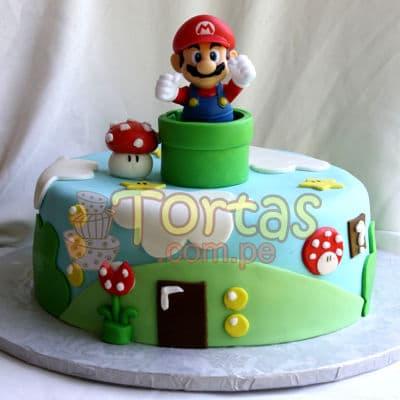 tortas de mario bros | Torta tematica Mario Bros - Whatsapp: 980-660044