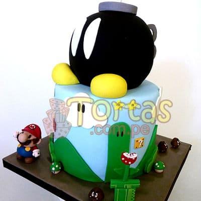 Torta Mario Bros Especial | Tortas Mario Bros - Cod:MBK09